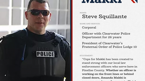 Corporal Steve Squillante Endorses Makki and Heads Up 'Cops for Makki'
