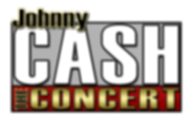 Johnny Cash The Concert Colour Logo LoRe