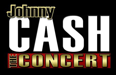 Johnny Cash The Concert Colour Logo LoRe