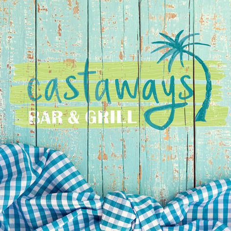 Castaways Menu Design