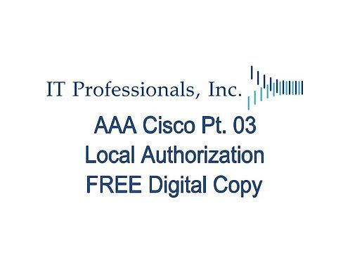 AAA Cisco Pt. 03 Local Authorization.pdf