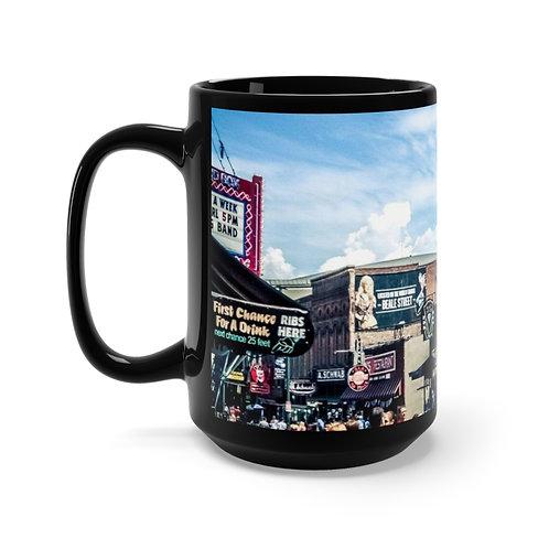 Black Mug Memphis  15oz