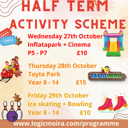 Half Term Activity Scheme