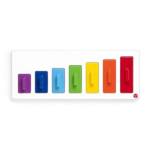 התאמת צורות -מדרגות צבעים