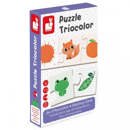 משחק פאזל התאמה 30 חלקים Triocolor