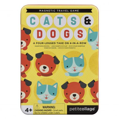 משחק מגנטי - חתולים וכלבים