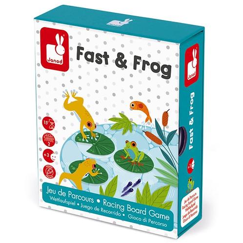 משחק מירוץ צפרדעים