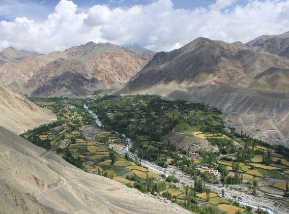 Village de Tia, Ladakh