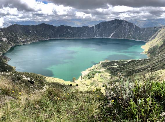 Boucle du Quilota , 3800m, Ecuador