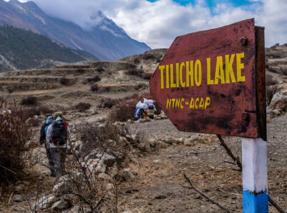 En route pour le lac sacré du Tilicho