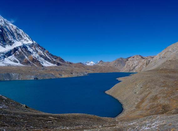 Lac sacré du Tilicho 4920m