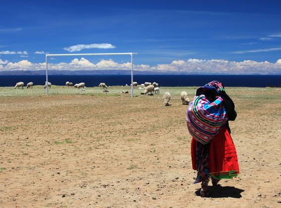 Ile d'Amantani, lac Titicaca