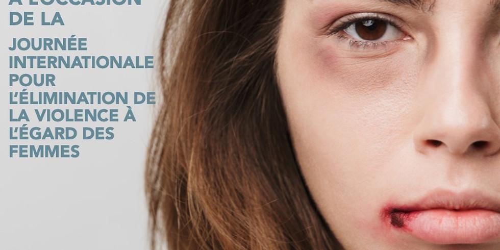 CONFÉRENCE ZOOM  - VIOLENCES FAITES AUX FEMMES
