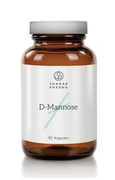3x Shanab Pharma D-MANNOSE 500mg Kapseln 90ST - Vegan - 100% Natürlich & Rein