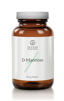 3x Shanab Pharma D Mannose Pulver 100g - Vegan - 100% Natürlich und Rein 3erPack