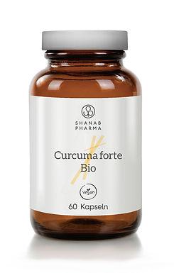 Curcuma Forte Bio + Bioperine - Vegan - 100% natürlich - 60 Kapseln