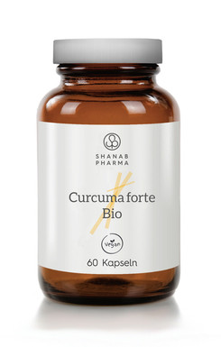 3x Curcuma Forte Bio + Bioperine - Vegan - 100% natürlich - 60 Kapseln
