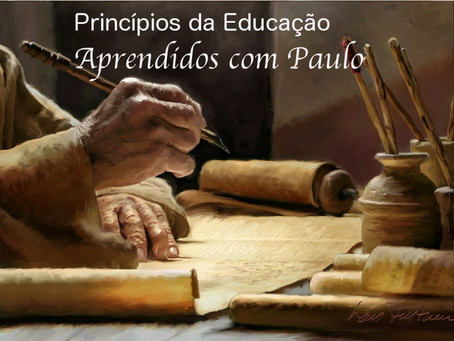 Princípios da Educação Aprendidos com Paulo