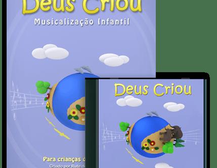 """Musicalização Infantil """"Deus Criou"""""""