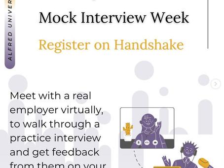 Mock Interview Week