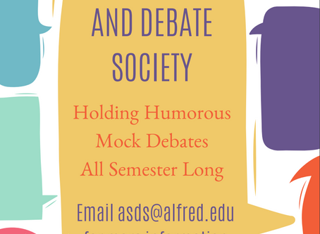 Alfred Speech and Debate Society