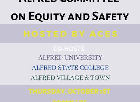 Alfred Committee on Equity and Safety