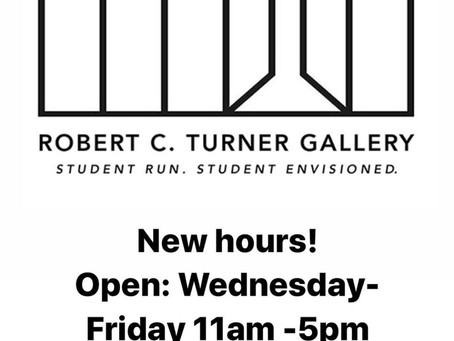 New Turner Gallery Hours!