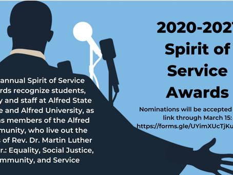 Spirit Of Service Awards