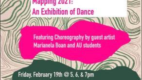 Mapping 2021: An Exhibition of Dance