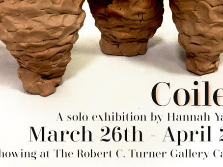 Coiled: A solo exhibition by Hannah Yandoh