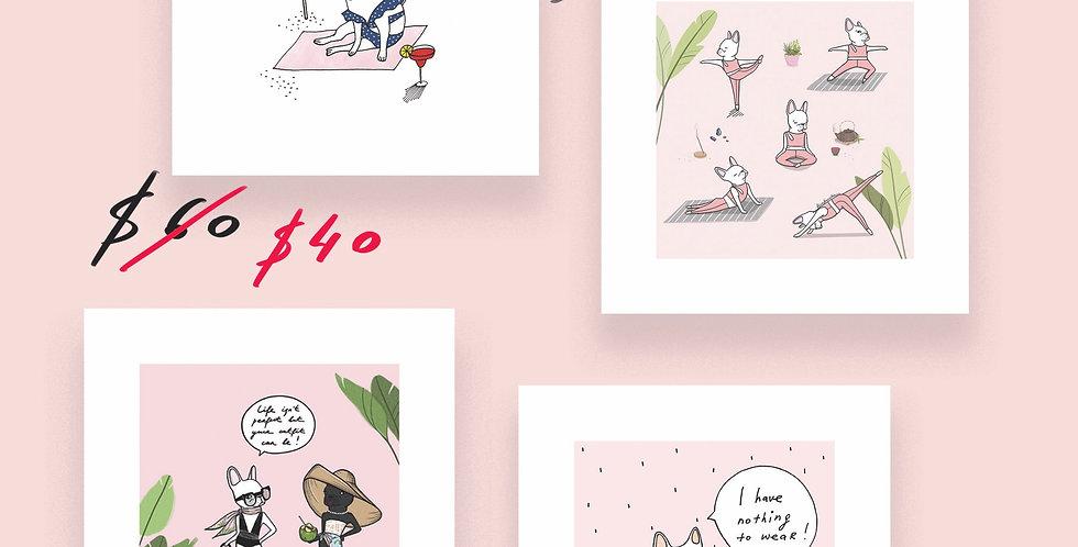Mini prints SET 6