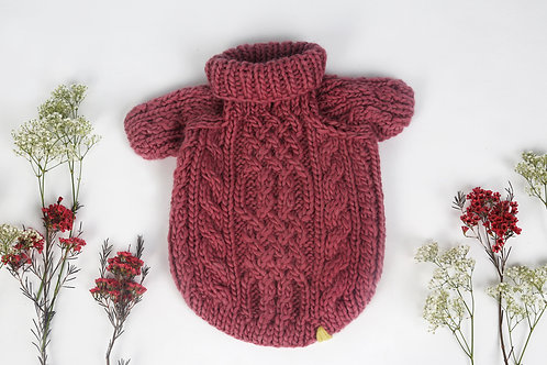 Knitted Sweater Maroon