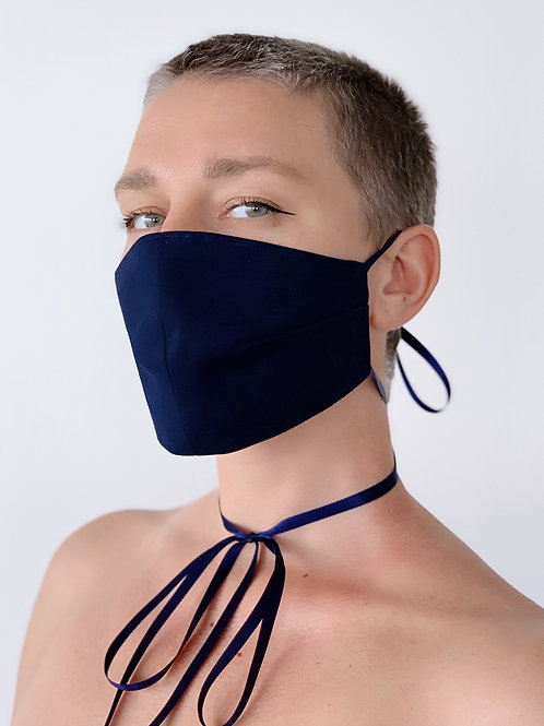 Protective mask in Navy Blue