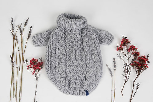 Knitted Sweater Ash Grey