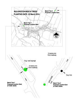 Bulkington_Beech Tree Locations_Confirme