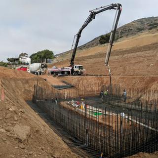 Concrete Basement Setup