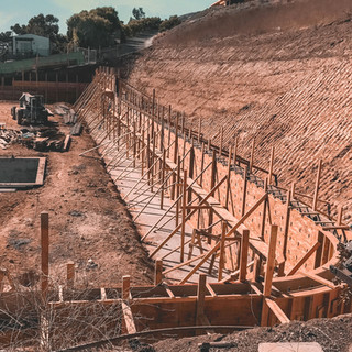 Retaining Wall Forming