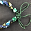 Thumbnail: Fabric multicoloured necklace