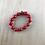 Thumbnail: Red bead arm bracelet