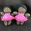 Thumbnail: Little African girl in pink dress