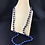 Thumbnail: Blue and gold bead necklace