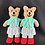 Thumbnail: Little girl koalas with rainbow skirts
