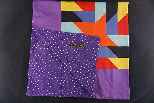 Striped Black Blanket