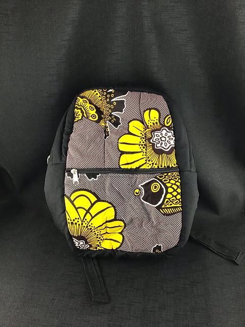 Kids yellow flower backpack