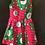 Thumbnail: Young girls Pink and Green kitenge Dress