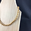 Thumbnail: Gold pearl bead necklace
