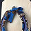 Thumbnail: Blue material pattern necklace