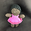 Thumbnail: Little African girl in pink dress