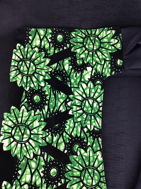 Green flower mei tei