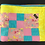 Thumbnail: Colourful giraffe blanket